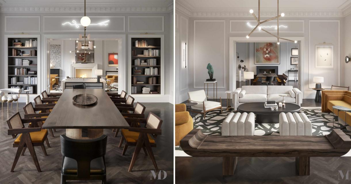 Graduate London Residential interior design for Mehrai Design