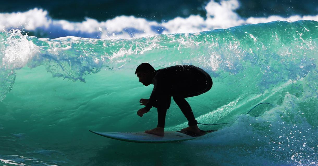 Surfer Porthtowan
