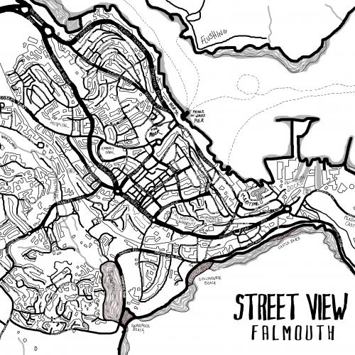 Art Street Map