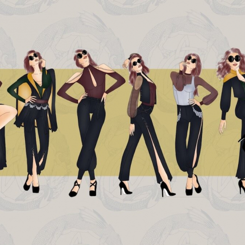 Ashleigh Booth Fashion Design Phantom Collection