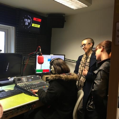 Students visit Source FM