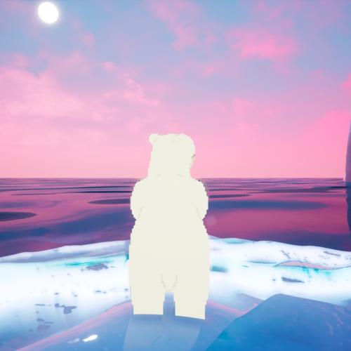 Polar bear ice game