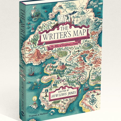The Writers Map book cover