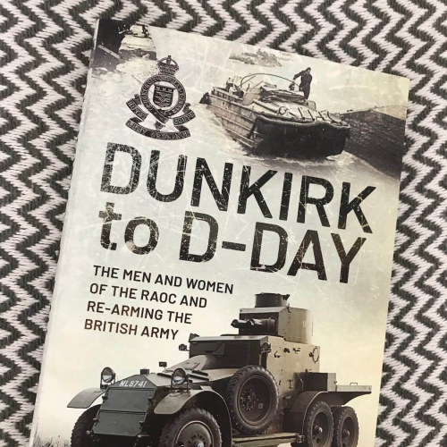 Dunkirk to D-Day Book Cover (Book by Philip Hamlyn Williams)