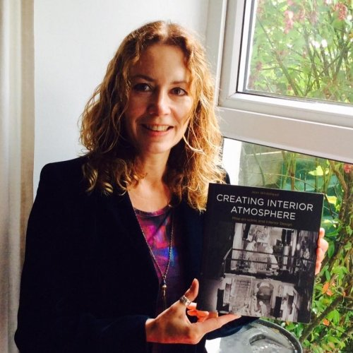 Jean Whitehead with her book