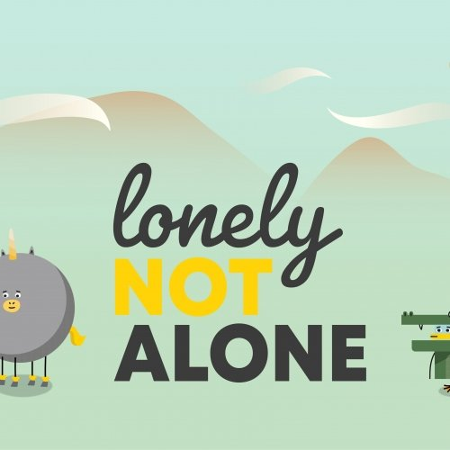 Graphic from Lonely Not Alone campaign
