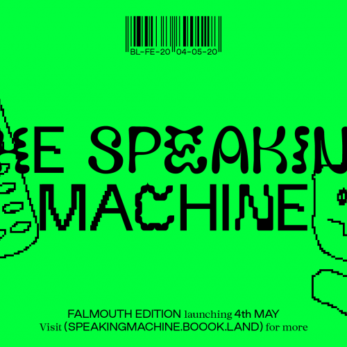 Speaking Machine front cover