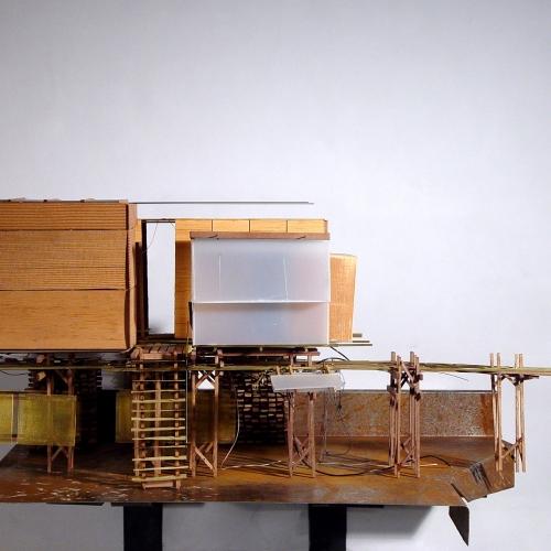 Model design of building