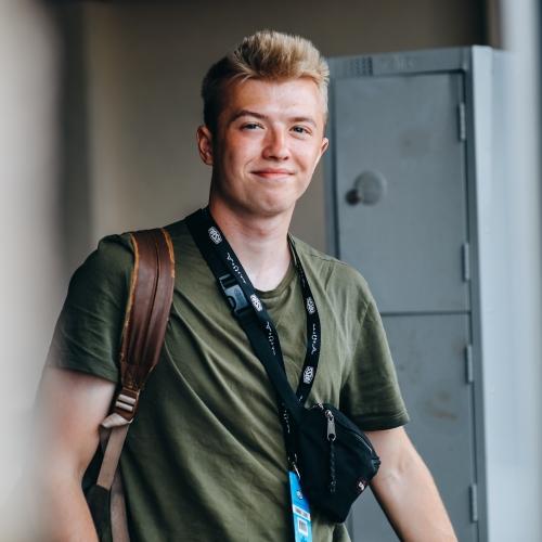 Press & Editorial Photography student Cameron Smith