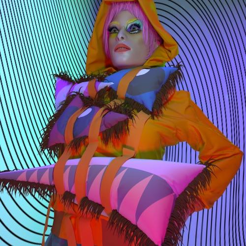 Digital clothing image of hoodie