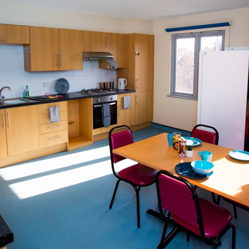 Kitchen/diner at Glasney Student Village