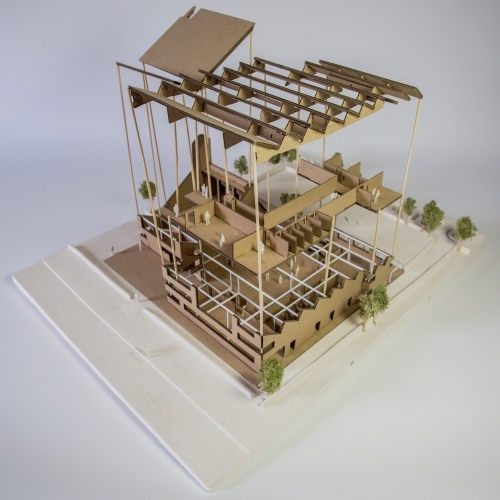 Model of architectural structure