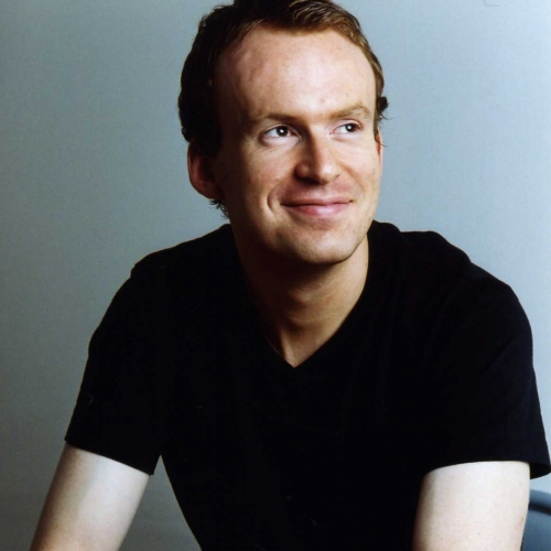 Portrait of previous writer in residence, Matt Haig.