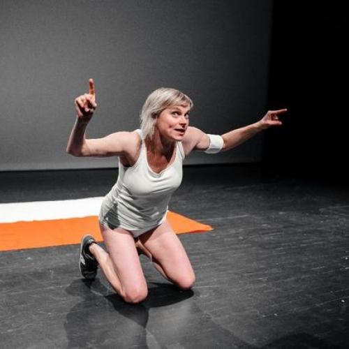 Agnieszka Blonska, Patrycja Kujawska, and Michal Iwanowski Polish Vermin performance (2017)