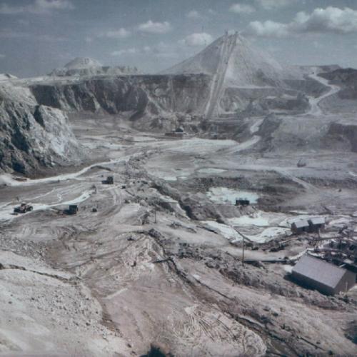 Clay pit landscape