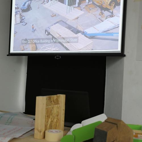 Presentation by Tom Jubb