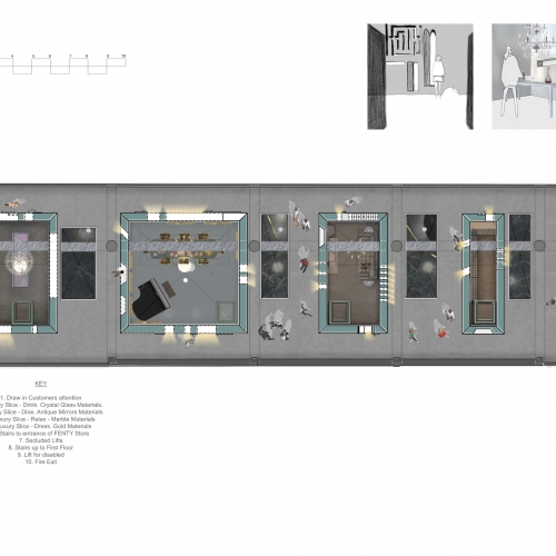 Interior Design student work