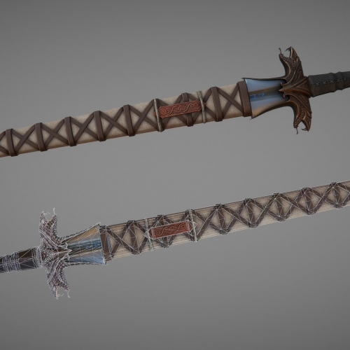 Warmonger sword design.